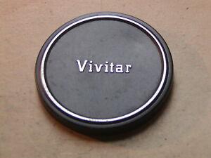 Genuine Vivitar 62mm metal front lens cap.