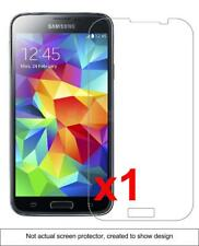 1x Samsung Galaxy S5 Screen Protector w/ cloth