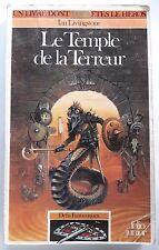 LDVELH Le Temple de la Terreur Défis Fantastiques nº14 - 1990