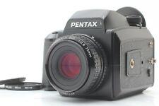 [NEAR MINT] Pentax 645N Camera, SMC A 75mm f/2.8 Lens, 120 Film Back from JAPAN