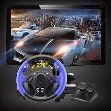 7in1 270°Racing Game Steering Wheel Suitable PS4/PS3/PC/XBOX-360/Switch/Android