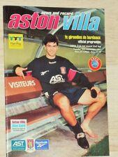 Aston Villa - Girondins de Bordeaux Lilian Laslandes Jean-Pierre Papin S.Wiltord