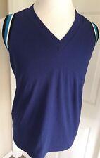Prada  Mens Sleeveless T Shirt Blue Size L $425 NWT Italy