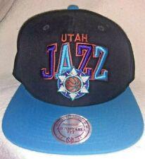 Mitchell & Ness UTAH JAZZ Snapback Hat Hardwood Classics Retro Cap New