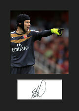 PETR CECH #1 (ARSENAL) Signed Photo A5 Mounted Print - FREE DELIVERY