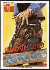 THOMPSON 1880 MANIFESTO CINEMA FILM WESTERN ITALIA GUIDO ZURLI MOVIE POSTER 2F