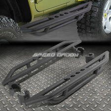 BLACK CRAWLER SIDE ARMOR GUARD STEP NERF BAR RUNNING BOARD FOR 07-16 WRANGLER JK