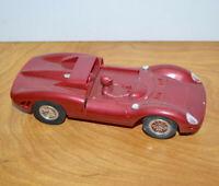 Vintage K&B 330 P2 FERRARI SLOT CAR 1/24 Scale Nice Condition 1960s