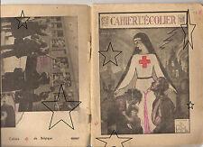 CROIX ROUGE DE BELGIQUE - Ancien cahier d'école de Français - 1950 - FR/NL