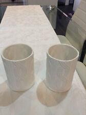 PartyLite Ceramic Contemporary Candle & Tea Light Holders