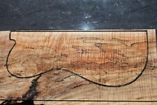 """Curly Spalted Maple 20 1/8"""" X 8 3/4"""" X 2 7/8"""": Guitar, Luthier, Craft, Scales"""