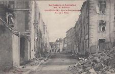 GUERRE 14-18 WW1 MEURTHE-ET-MOSELLE GERBEVILLER rue de la poste P.T.T.