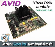 Avid Media Composer Nitris DX Codec Module Card PN: 7030-20035-05