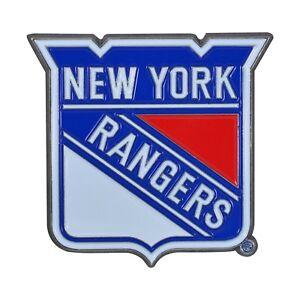New York Rangers NHL Color Metal Car Auto Emblem Team Decal Logo Ships Fast
