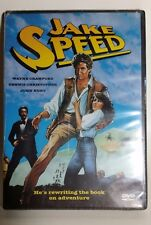 Jake Speed (DVD, 2001) Wayne Crawford Out of Print RARE OOP Sealed