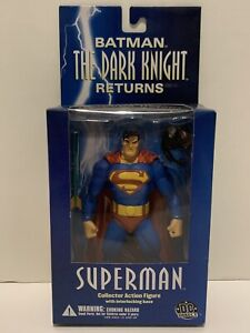 DC DIRECT BATMAN DARK KNIGHT RETURNS SUPERMAN FIGURE DC COMICS MINT IN BOX. WOW!
