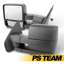04-14 Ford F-150 F150 Extendable Manual Power Heated Towing Trailer Mirror Pair