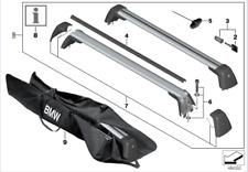 BMW Genuine Aluminium Lockable Roof Bars Rack 5 Series G30 82712360951