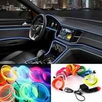 Ambient Panel illumination Refit Air Optic Fiber Cool Light Car Style 12V 3M TP