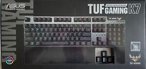 ASUS TUF Gaming K7 Optical Mechanical Keyboard - Linear Switches - UK Layout