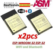 2pcs ESP32 ESP-WROOM-32 ESP-32S ESP-32 Bluetooth and WIFI Dual Core CPU DOIT
