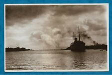 1926 RP PC EARLY MORNING, PORTSMOUTH HARBOUR