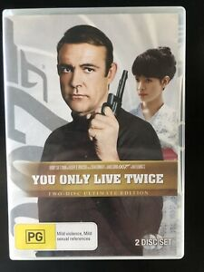 YOU ONLY LIVE TWICE Ultimate Edition DVD REGION 4 Bond Sean Connery