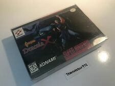 Castlevania: Dracula X Super Nintendo 1995 SNES CIB Complete box cart manual