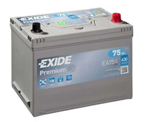 EXIDE PREMIUM EA754 Asia 12V/75Ah 630A (EN) Erstausrüstertechnologie HOCHWERTIG
