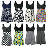 Women's Plus Size Tankini Floral Print One Piece Padded Swimwear Bathing Suit