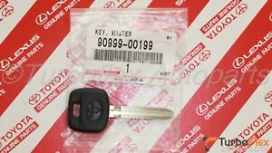 Toyota Camry Celica Corolla Sienna Genuine NON-Transponder Blank Key 90999-00199
