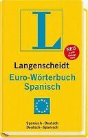 Langenscheidt Euro-Wörterbuch Spanisch: Spanisch-Deutsch... | Buch | Zustand gut