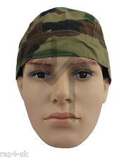 Paintball / Airsoft Camouflage Bandana Adult Size (Woodland) [AN6]