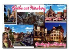 "Foto-Magnet ""Grüsse aus Nürnberg"", Deko-Souvenir ca. 8 x 5,5 cm"