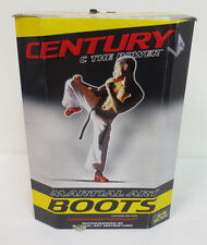 Martial Art Boots Century C The Power Black Mens Sparring Safety New In Box