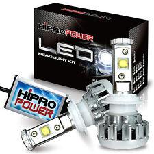 60W H11 CREE MK-R LED 6000K 8,000LMS FOG LIGHT BULBS LINCOLN MKS MKT 2013-2015