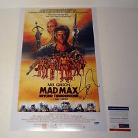 GEORGE MILLER DIRECTOR MAD MAX SIGNED AUTOGRAPH MOVIE POSTER PSA/DNA COA #1
