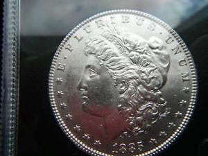USA MORGAN SILVER DOLLAR 1885 VERY RARE KEY DATE