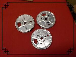 "3 Vintage Film Reel E.K. Co. Kodak Mini 3"" 8mm, Pat. USA, Canada,  Movie Reel"