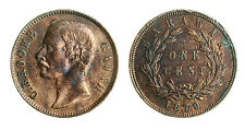 pcc1523_1) Sarawak, C. Brooke Rajah, 1 Cent 1870