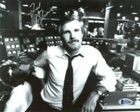 TED TURNER SIGNED AUTOGRAPHED 8x10 PHOTO FOUNDER OF CNN RARE BECKETT BAS