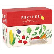 Recipe Box  (includes dividers & cards)