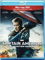 CAPTAIN AMERICA THE WINTER SOLDIER  1 BLU RAY 3D+ 1 BLU