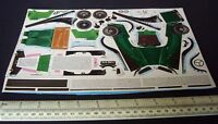 1960s Vintage Chocolate Box Cut-Out Card Model Kit. 1930s MG Sports Car