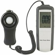 High Accuracy Durable Solar Power Meter with Data Hold, Large LCD Display