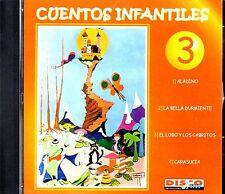 CUENTOS INFANTILES VOL.3 - EN ESPAÑOL  - CD