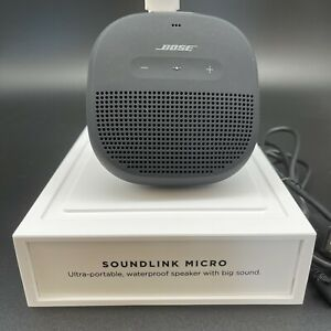 Bose SoundLink Micro Portable Speaker System Black Unit Demo
