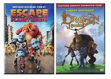 Dragon Hunters & Escape From Planet Earth DVD Lot
