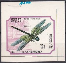 Cambodia Sc896 Insect, Dragonfly, Proof