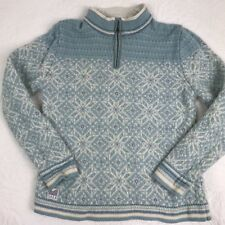 Dale Of Norway 1/4 Zip, Pastel Blue, Medium